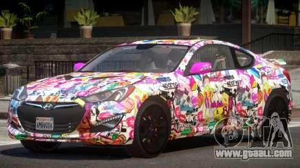 Hyundai Genesis RS PJ3 for GTA 4