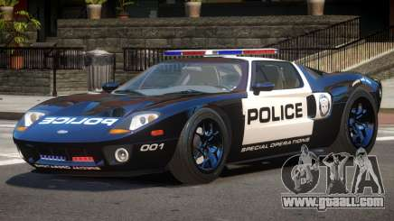 Ford GT1000 Police V1.1 for GTA 4