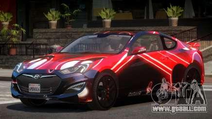 Hyundai Genesis RS PJ4 for GTA 4