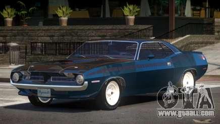 Plymouth Cuda NS for GTA 4