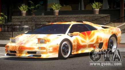 1995 Lamborghini Diablo SV PJ5 for GTA 4