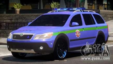 Skoda Octavia Scout Police V1.0 for GTA 4
