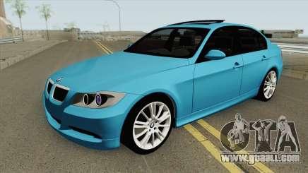 BMW E90 320d (Stock) for GTA San Andreas