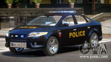 Ford Mondeo ST Police for GTA 4