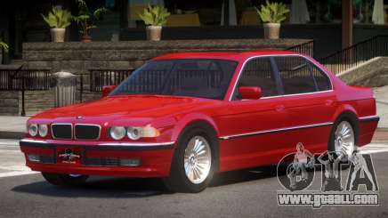 BMW 750iL TDI for GTA 4