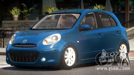 Nissan Micra V1.0 for GTA 4