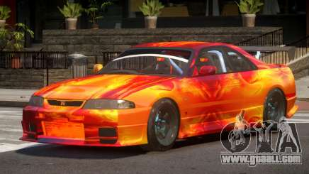 Nissan Skyline GT R33 SE PJ3 for GTA 4