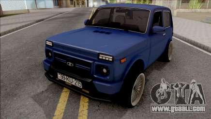 Lada Niva Sport Tuning Azerbaijan for GTA San Andreas