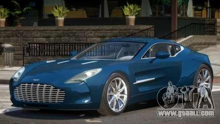 Aston Martin One 77 V1.0 for GTA 4