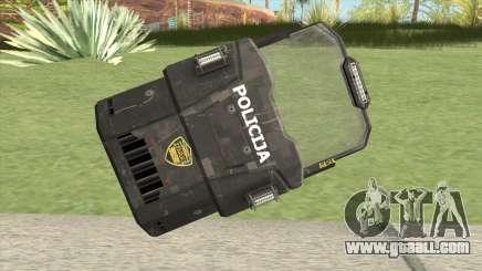 Police Shield for GTA San Andreas