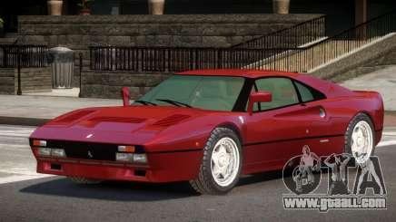 1986 Ferrari 288 GTO for GTA 4