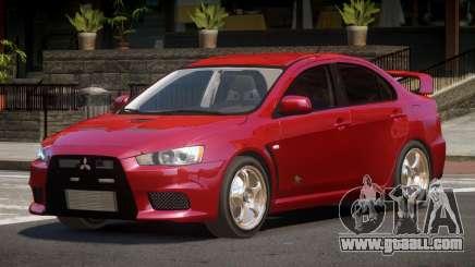 Mitsubishi Lancer Evolution X ST for GTA 4