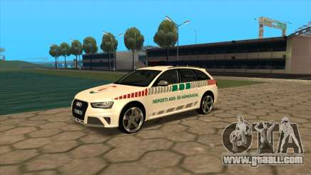 Audi RS4 NAV for GTA San Andreas