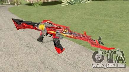 AK-47 (Unicorn Fire) for GTA San Andreas