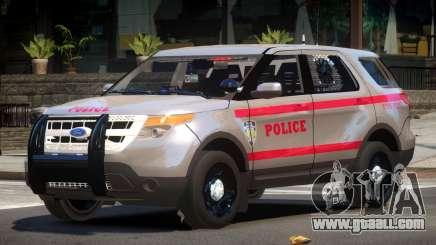 Ford Explorer Police V2.1 for GTA 4