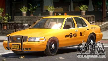 Ford Crown Victoria Taxi NY for GTA 4