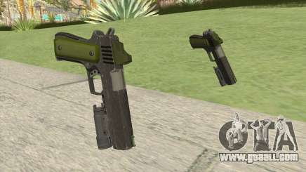 Heavy Pistol GTA V (Green) Flashlight V1 for GTA San Andreas