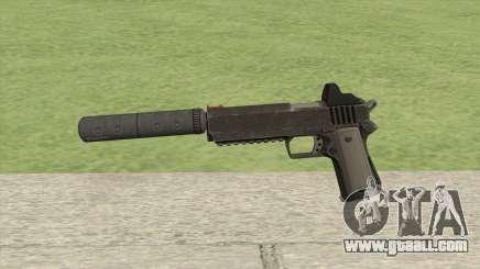 Heavy Pistol GTA V (NG Black) Suppressor V1 for GTA San Andreas