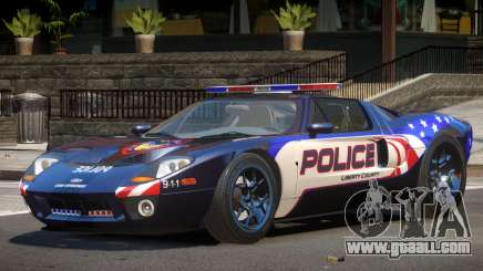 Ford GT1000 Police V1.0 for GTA 4