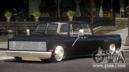 Chevrolet Silverado Custom for GTA 4