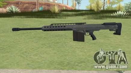 Heavy Sniper GTA V (LSPD) V2 for GTA San Andreas