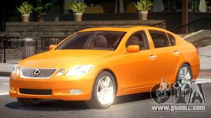 Lexus GS450 RS for GTA 4