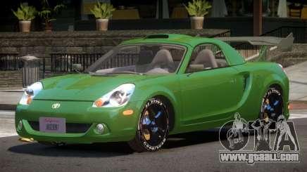 Toyota MRS2 Spyder for GTA 4