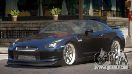 Nissan GTR R35 ST for GTA 4