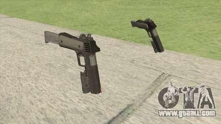 Heavy Pistol GTA V (NG Black) Flashlight V2 for GTA San Andreas