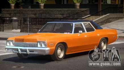 1975 Dodge Monaco for GTA 4