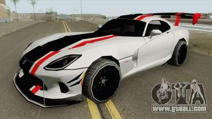 Dodge Viper ACR 2016 MQ for GTA San Andreas