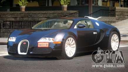 Bugatti Veyron 16.4 GT for GTA 4