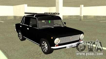 VAZ 2101 Farm Black for GTA San Andreas