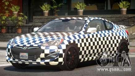 Hyundai Genesis RS PJ2 for GTA 4