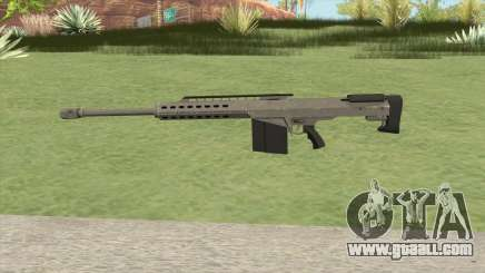 Heavy Sniper GTA V (Platinum) V2 for GTA San Andreas