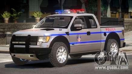 Ford Raptor Police V1.0 for GTA 4