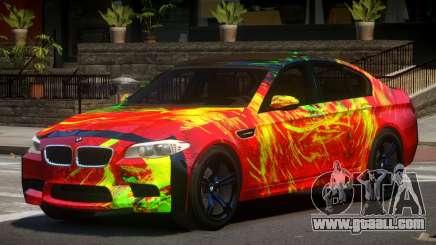 BMW M5 F10 RS PJ2 for GTA 4