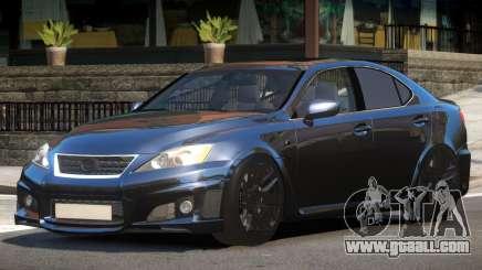 Lexus IS-F Transit for GTA 4
