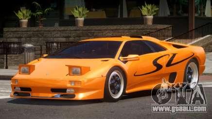 1995 Lamborghini Diablo SV V1.0 for GTA 4