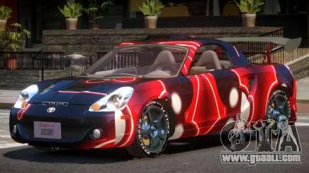 Toyota MRS2 Spyder PJ2 for GTA 4