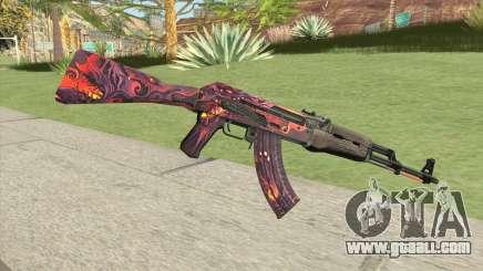 AK-47 (Phantom Disruptor) for GTA San Andreas