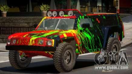 Hummer H3 Edit PJ4 for GTA 4