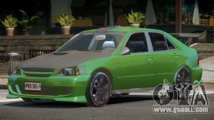 Lexus IS 300 Tuning for GTA 4