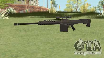 Heavy Sniper GTA V (Black) V3 for GTA San Andreas