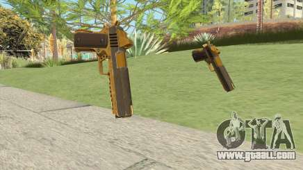 Heavy Pistol GTA V (Gold) Base V1 for GTA San Andreas