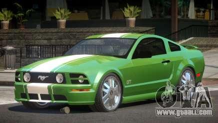 Ford Mustang Edit for GTA 4