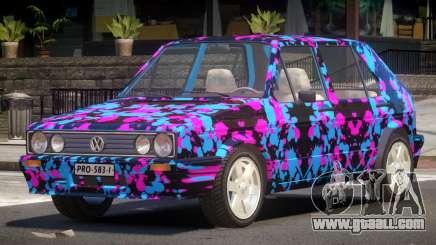 Volkswagen Golf Old PJ4 for GTA 4