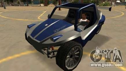 GTA V BF Raptor SA Style for GTA San Andreas