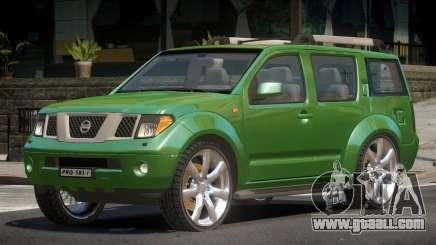 Nissan Pathfinder V1.0 for GTA 4