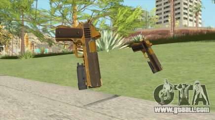 Heavy Pistol GTA V (Gold) Flashlight V1 for GTA San Andreas